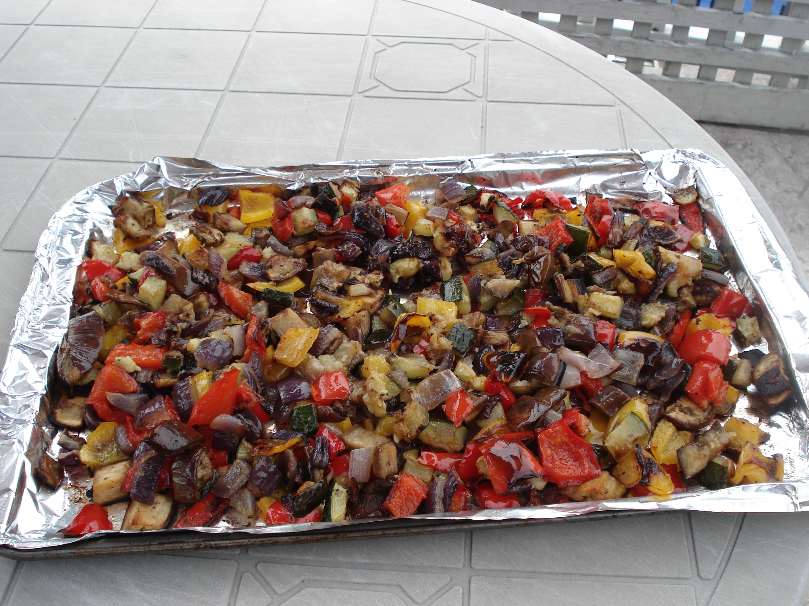 Ina Garten Roasted Summer Vegetables  roasted root ve ables barefoot contessa