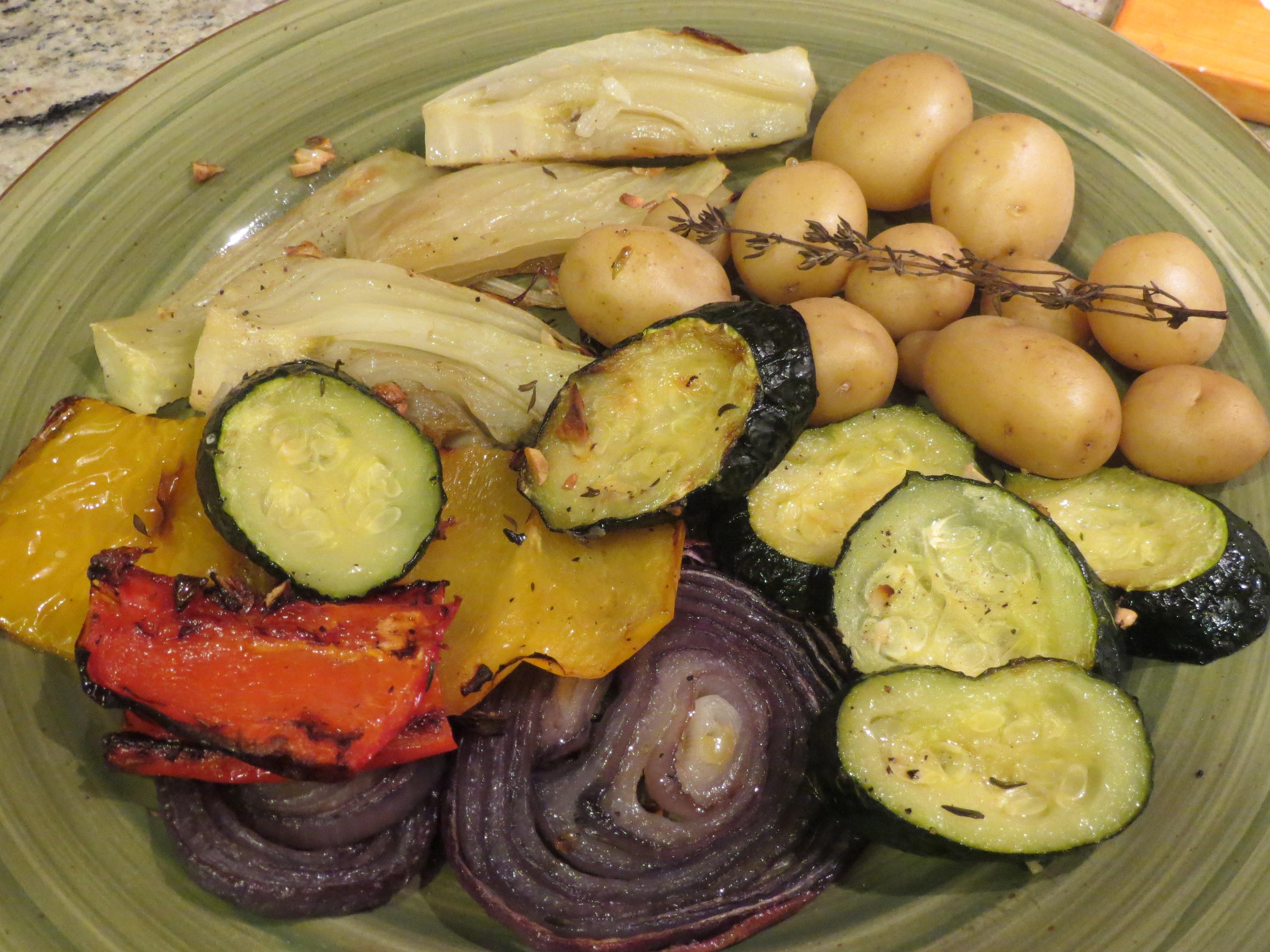 Ina Garten Roasted Summer Vegetables  ina garten oven roasted ve ables