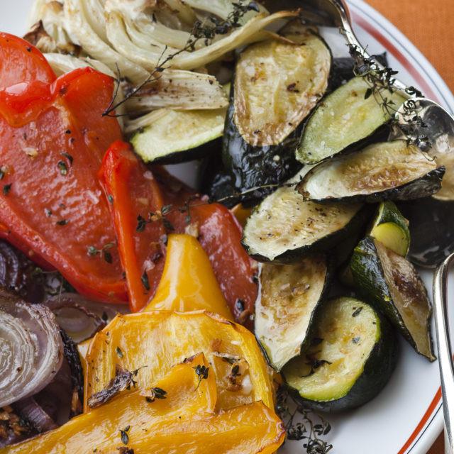 Ina Garten Roasted Summer Vegetables  Roasted Summer Ve ables Recipes