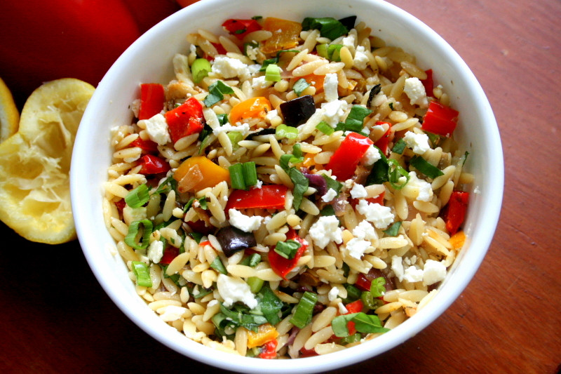 Ina Garten Roasted Summer Vegetables  Orzo with Roasted Ve ables – Hungry Hannah