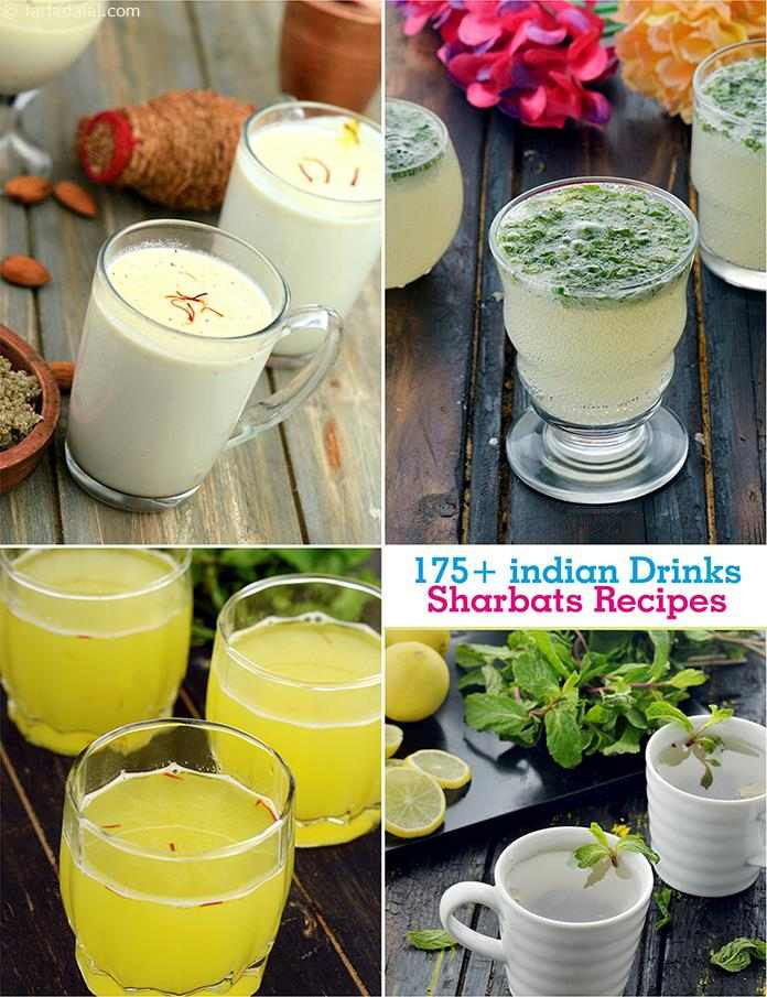 Indian Drinks For Summer  Indian Drinks Sharbat Recipes Cold Drink Recipes