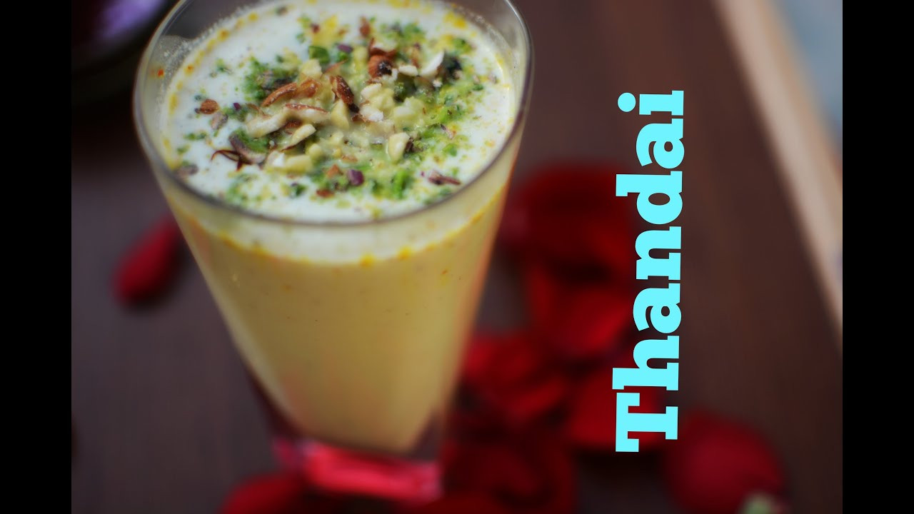 Indian Drinks For Summer  Thandai Indian Summer Drink