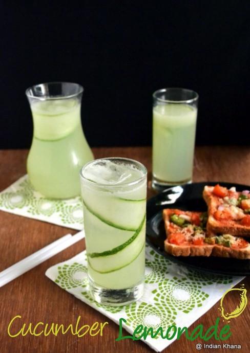 Indian Drinks For Summer  Cucumber Lemonade