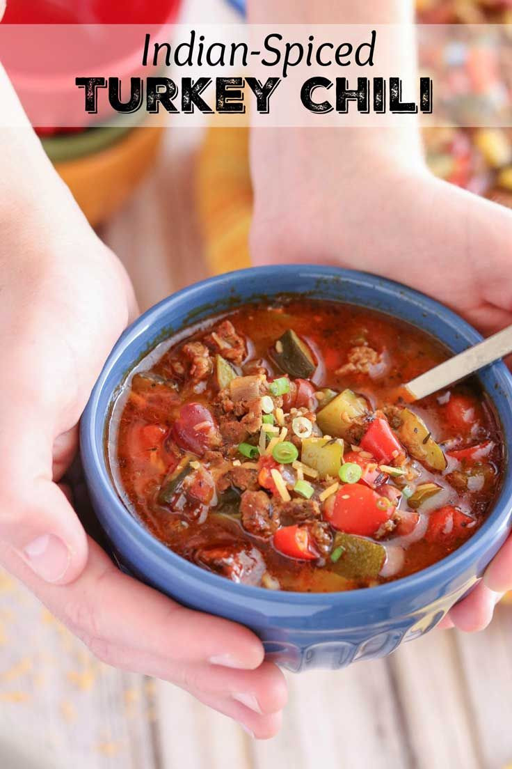 Indian Summer Turkey Chili  432 best images about Two Healthy Kitchens Recipes on