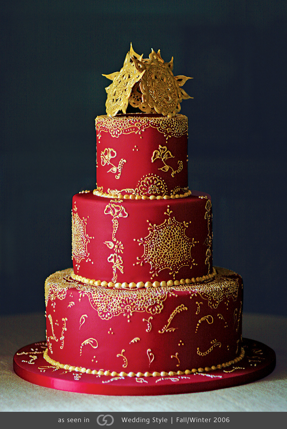 Indian Wedding Cakes  20 Super Fancy Looking Wedding Cakes Page 10 of 21