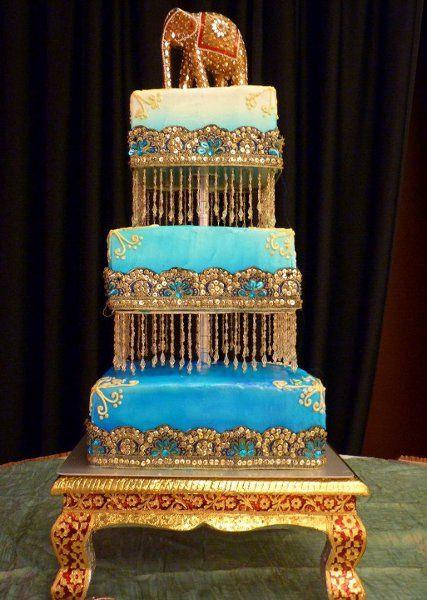 Indian Wedding Cakes  wedding cake