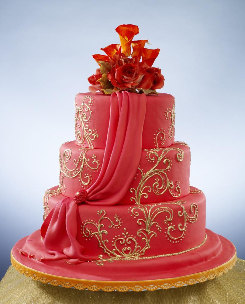 Indian Wedding Cakes  sumptuous indian wedding cake