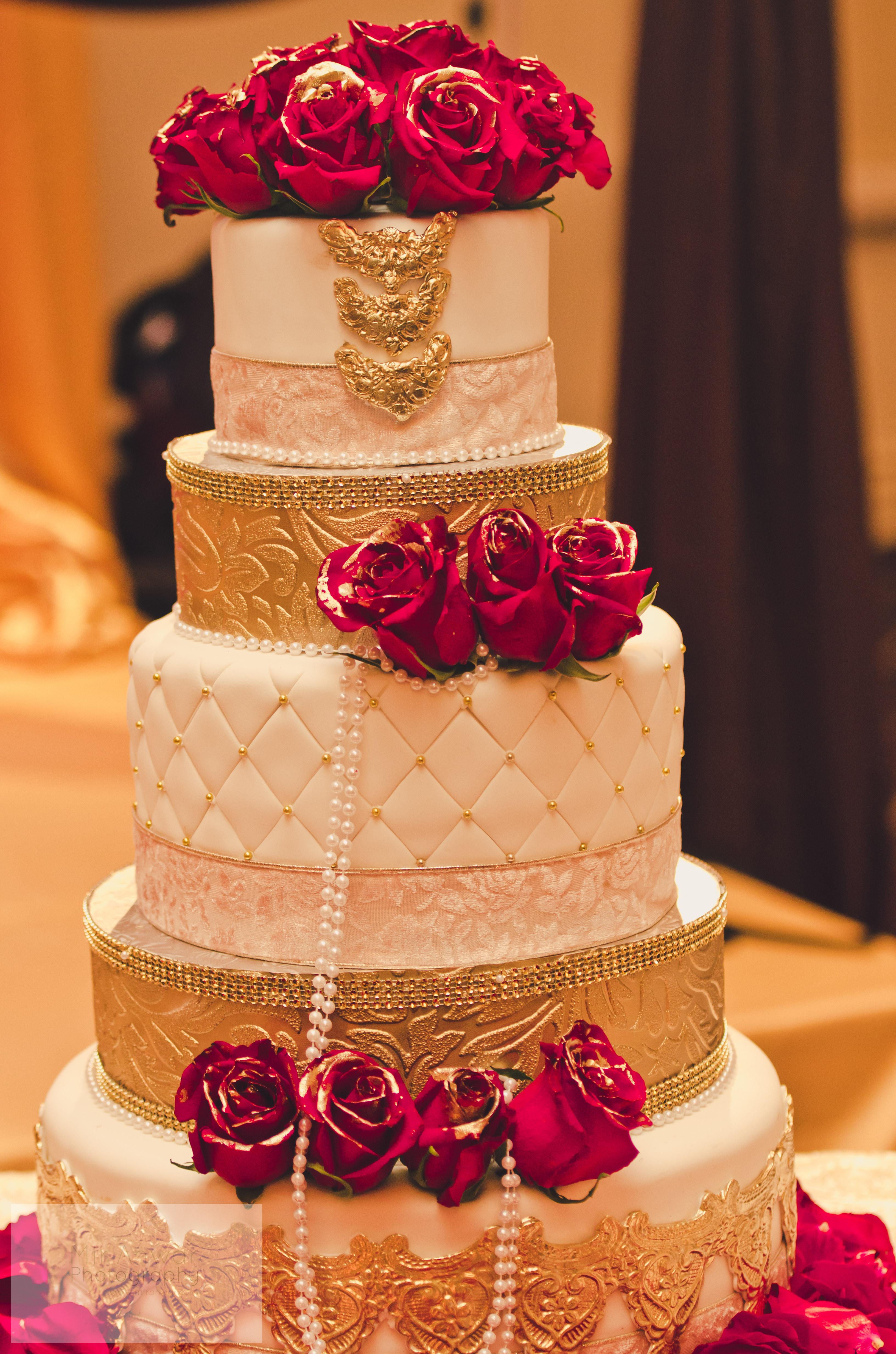 Indian Wedding Cakes  mybigfatpakistaniwedding