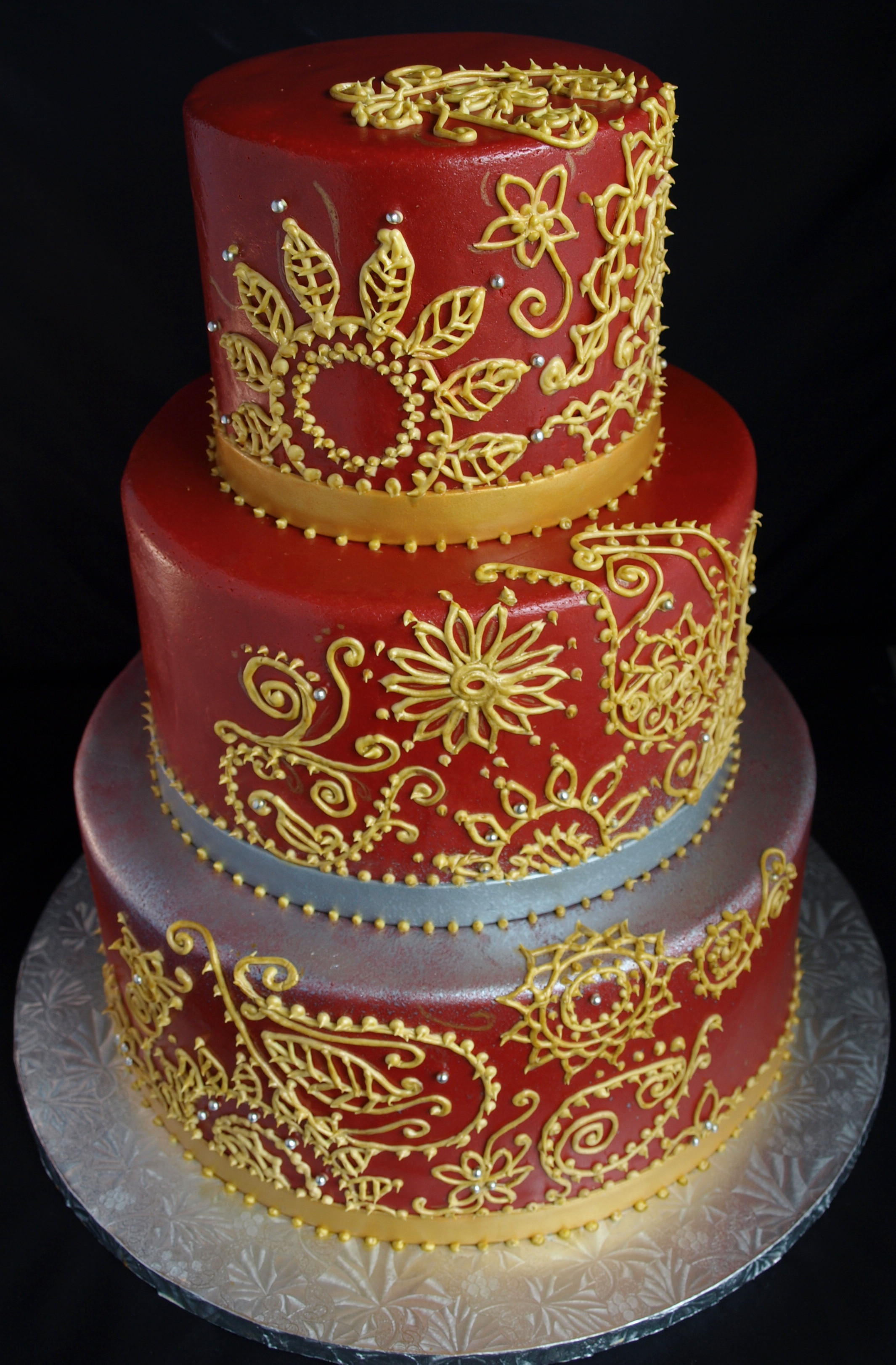 Indian Wedding Cakes  Wedding Cakes Gallery Laurie Clarke Cakes