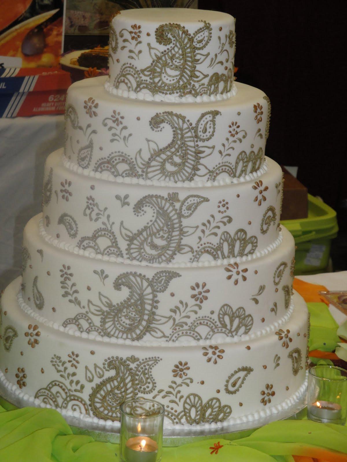 Indian Wedding Cakes  Understated Elegance
