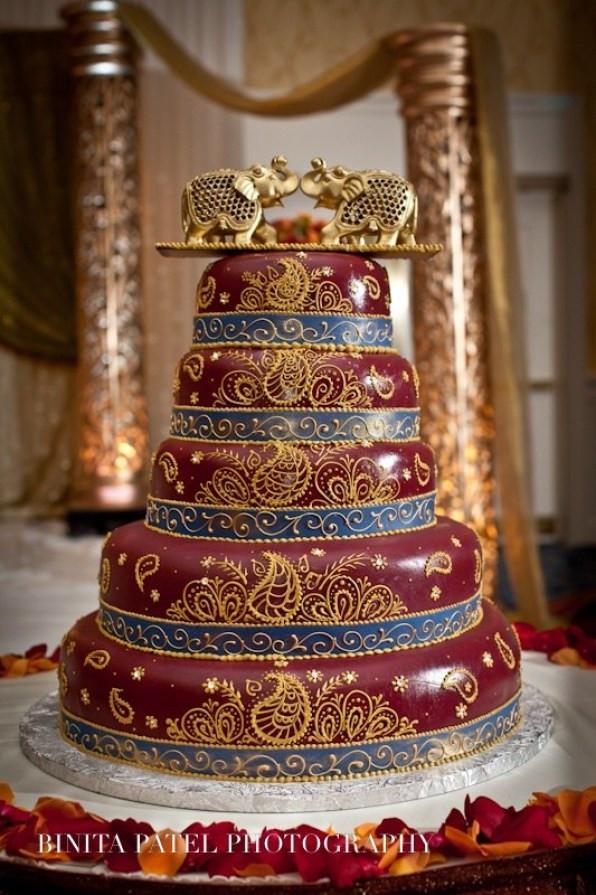 Indian Wedding Cakes  23 Indian inspired wedding cakes Shaadi Bazaar