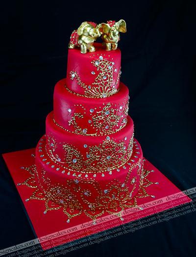 Indian Wedding Cakes  indian wedding cake
