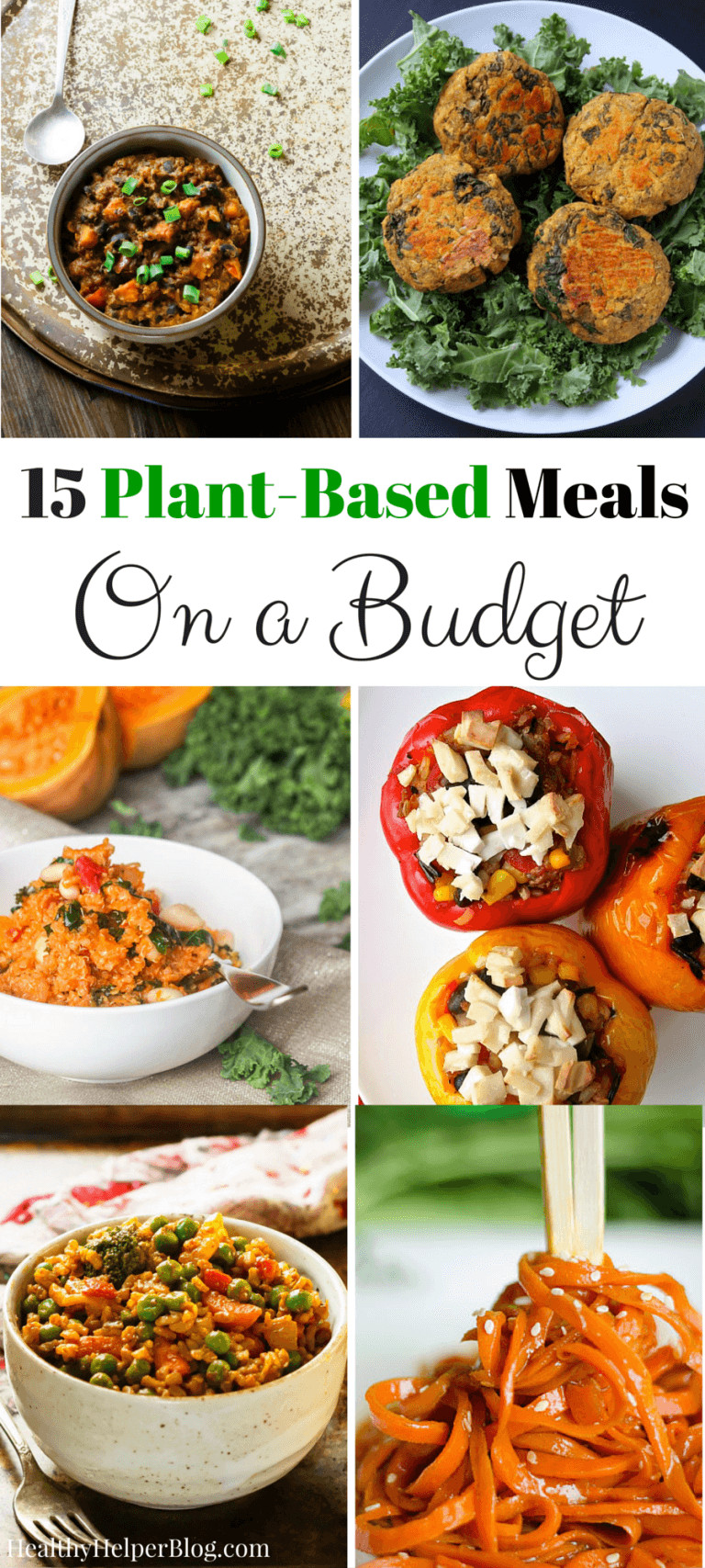 Inexpensive Healthy Dinners  Love Healthy Recipes Wel e to the Healthy Living Link