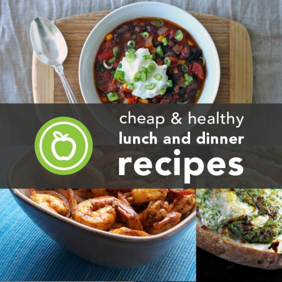 Inexpensive Healthy Dinners  88 Cheap and Healthy Lunch and Dinner Recipes