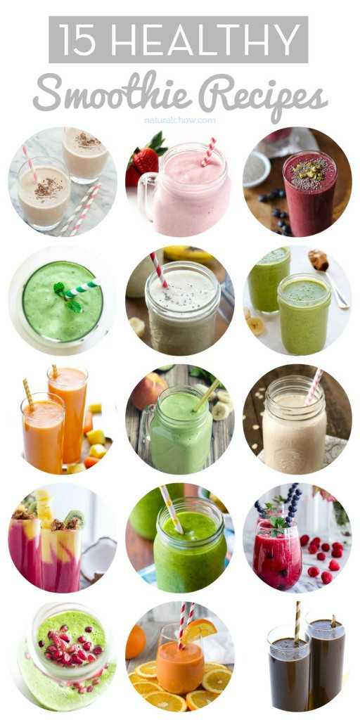 Ingredients For Healthy Smoothies  15 Healthy Smoothie Recipes
