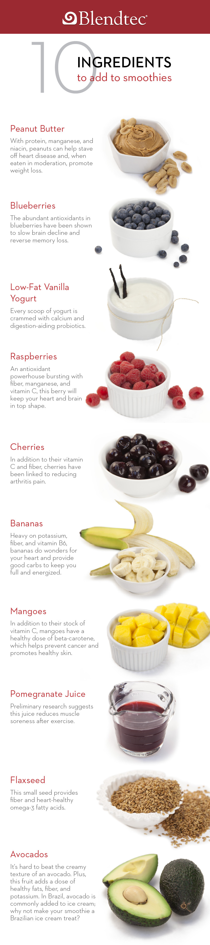 Ingredients For Healthy Smoothies  10 Ingre nts You Should be Adding to Your Smoothies