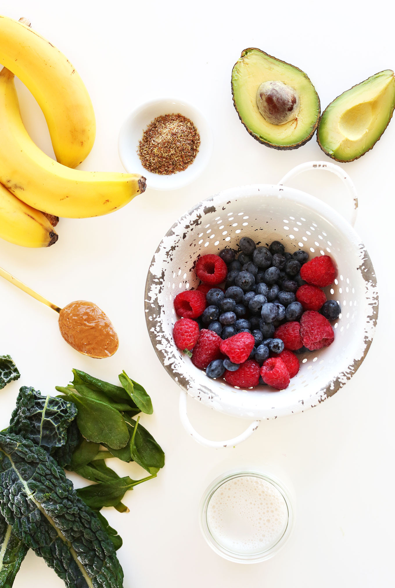 Ingredients For Healthy Smoothies  Super Green Smoothie Bowl