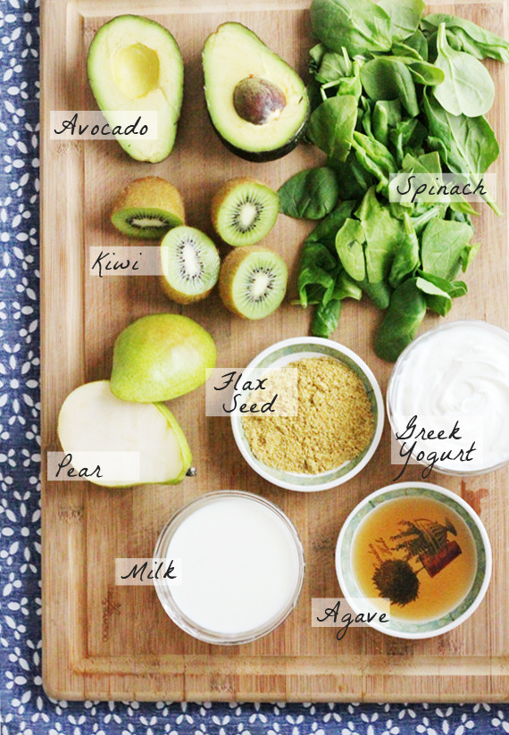 Ingredients For Healthy Smoothies  Recipe Clean Green Smoothie