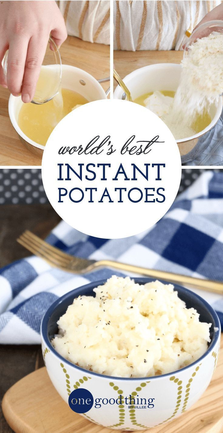 Instant Mashed Potatoes Healthy  Healthy Recipes Why put all that time and effort into