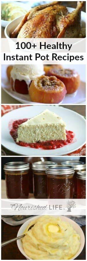 Instant Pot Healthy Desserts  New Pressure Cooker 100 Healthy Instant Pot Recipes