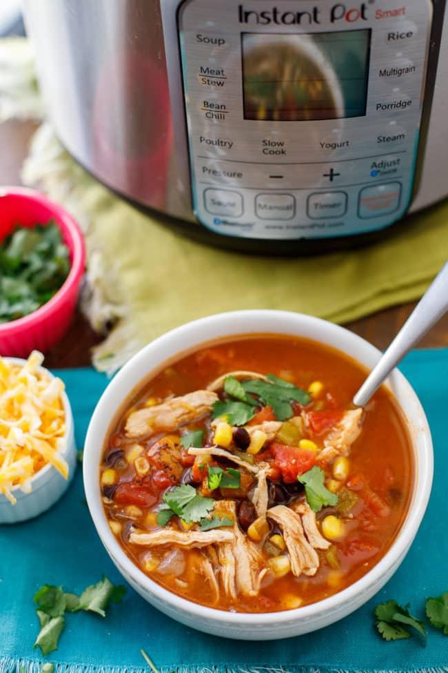 Instant Pot Healthy Soup Recipes  Instant Pot Chicken Taco Soup Instant Pot Taco Soup