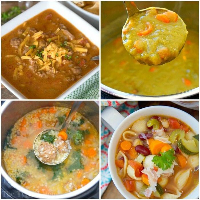 Instant Pot Healthy Soup Recipes  Instant Pot Soup Recipes · The Typical Mom