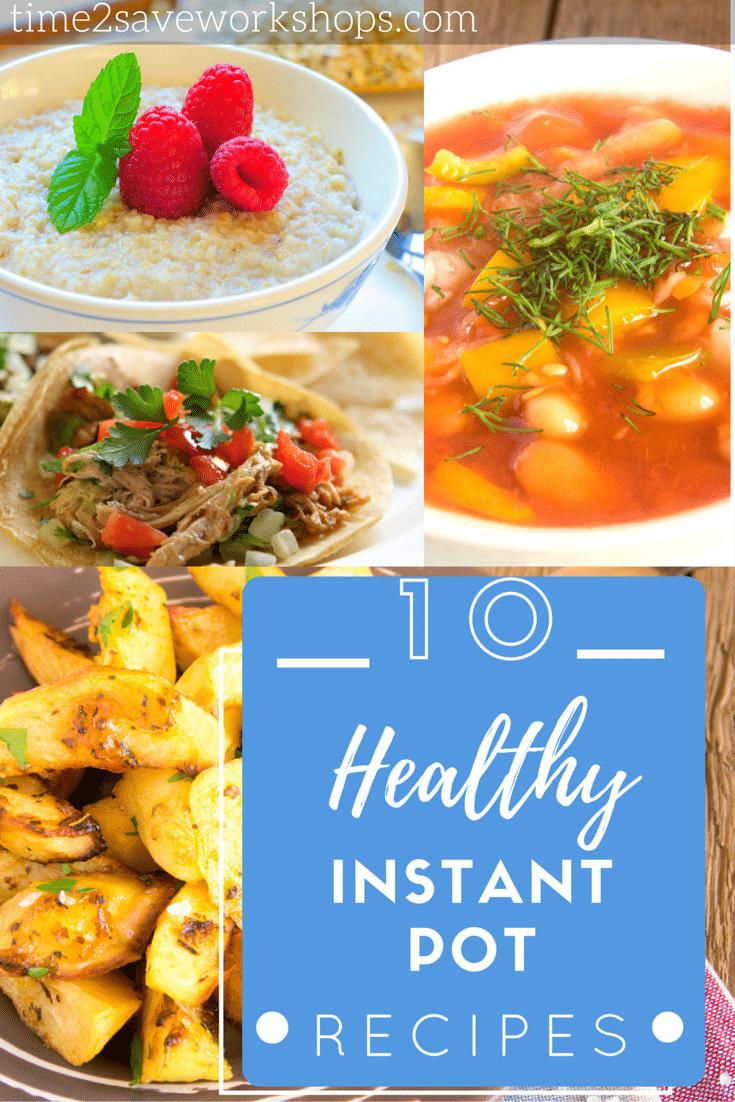 Instant Pot Recipes Healthy  Healthy Instant Pot Recipes Kasey Trenum