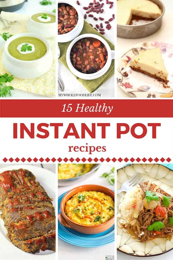 Instant Pot Recipes Healthy  Best Healthy Pressure Cooker Recipes Instant Pot