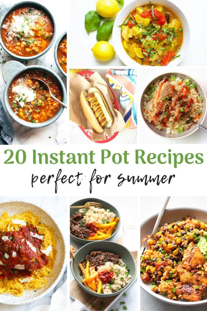 Instant Pot Recipes Summer  20 Instant Pot Summer Recipes Crockpot Slow Cooker