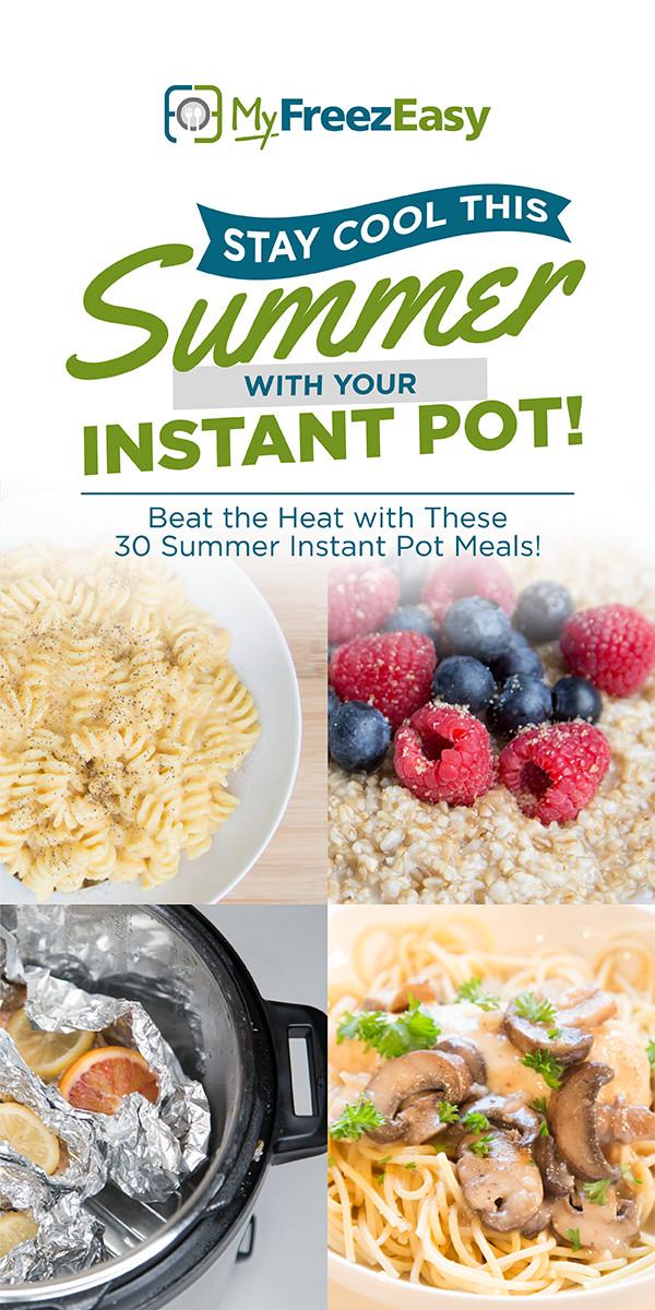Instant Pot Recipes Summer  30 Days of Summer Instant Pot Recipes