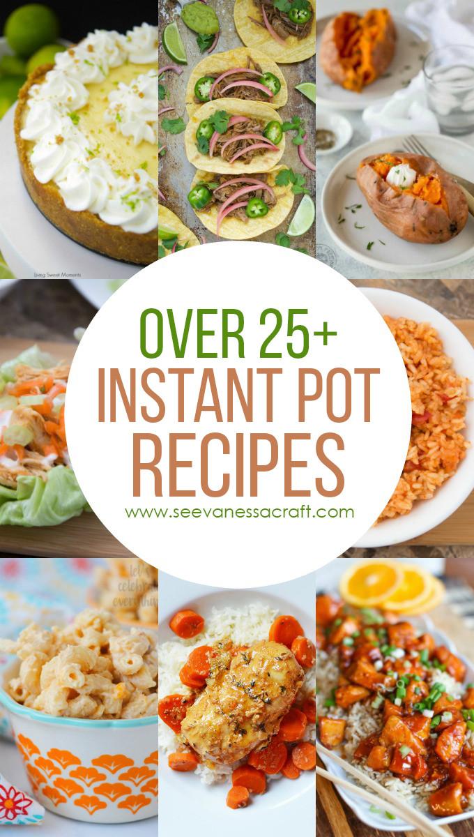 Instant Pot Recipes Summer  Over 25 Easy Instant Pot Recipes