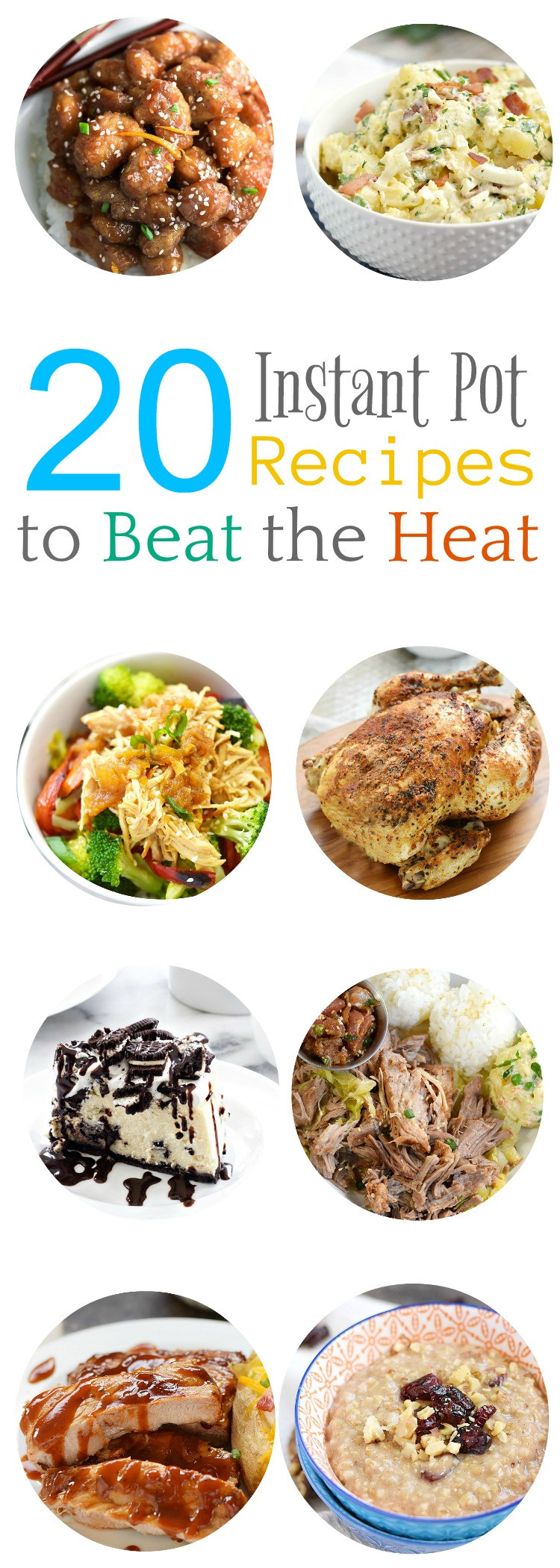 Instant Pot Summer Recipes  20 Instant Pot Recipes to Beat the Heat Cooking With Curls