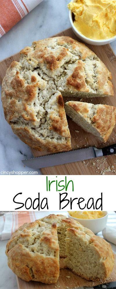 Irish Easter Dinner  Irish Soda Bread Recipe