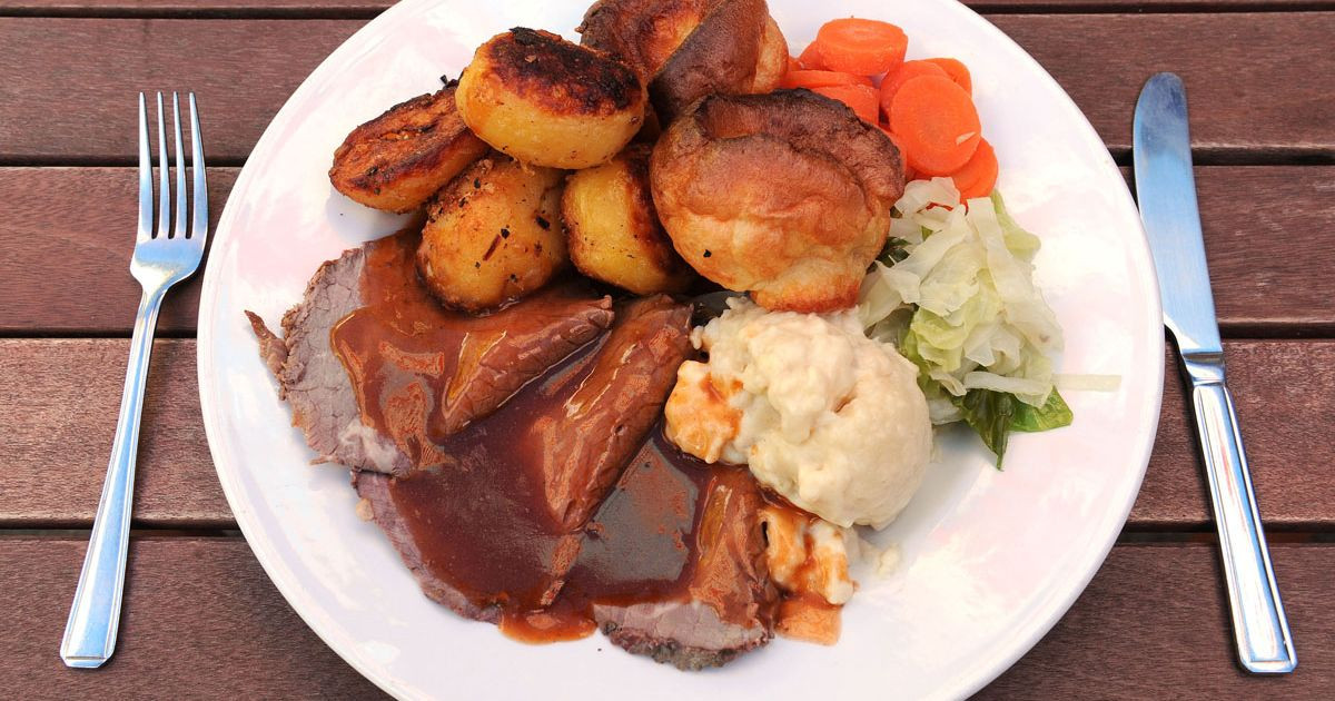 Irish Easter Dinner  Do people in Yorkshire really eat the most puds Roast