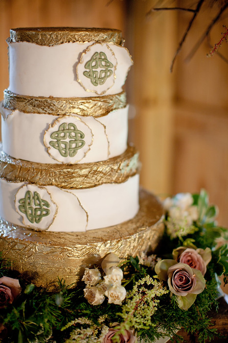 Irish Wedding Cakes  Celtic Wedding Shoot Aislinn Events