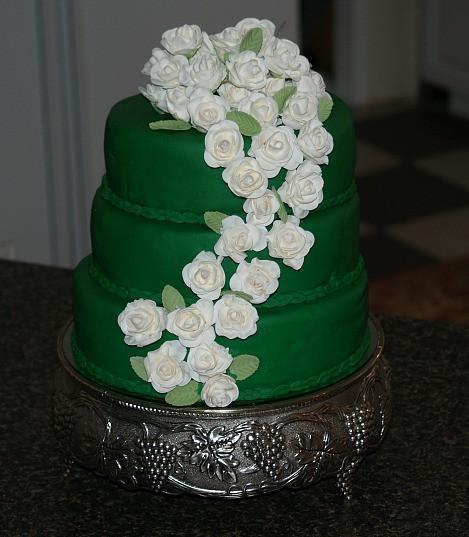 Irish Wedding Cakes  How to Make an Irish Whiskey Cake Recipe