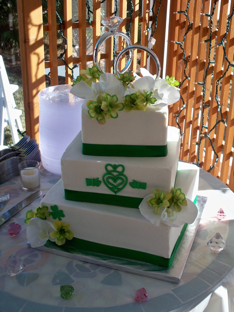 Irish Wedding Cakes  Irish wedding Cakes by Michelle