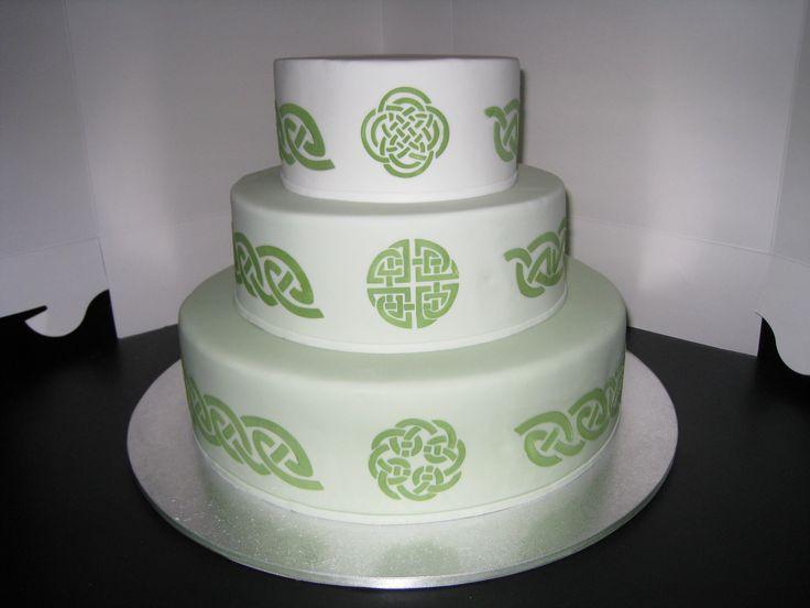Irish Wedding Cakes  Irish wedding cake idea in 2017
