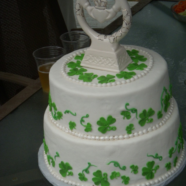 Irish Wedding Cakes  Irish wedding cake by Keykes Wedding Pinterest