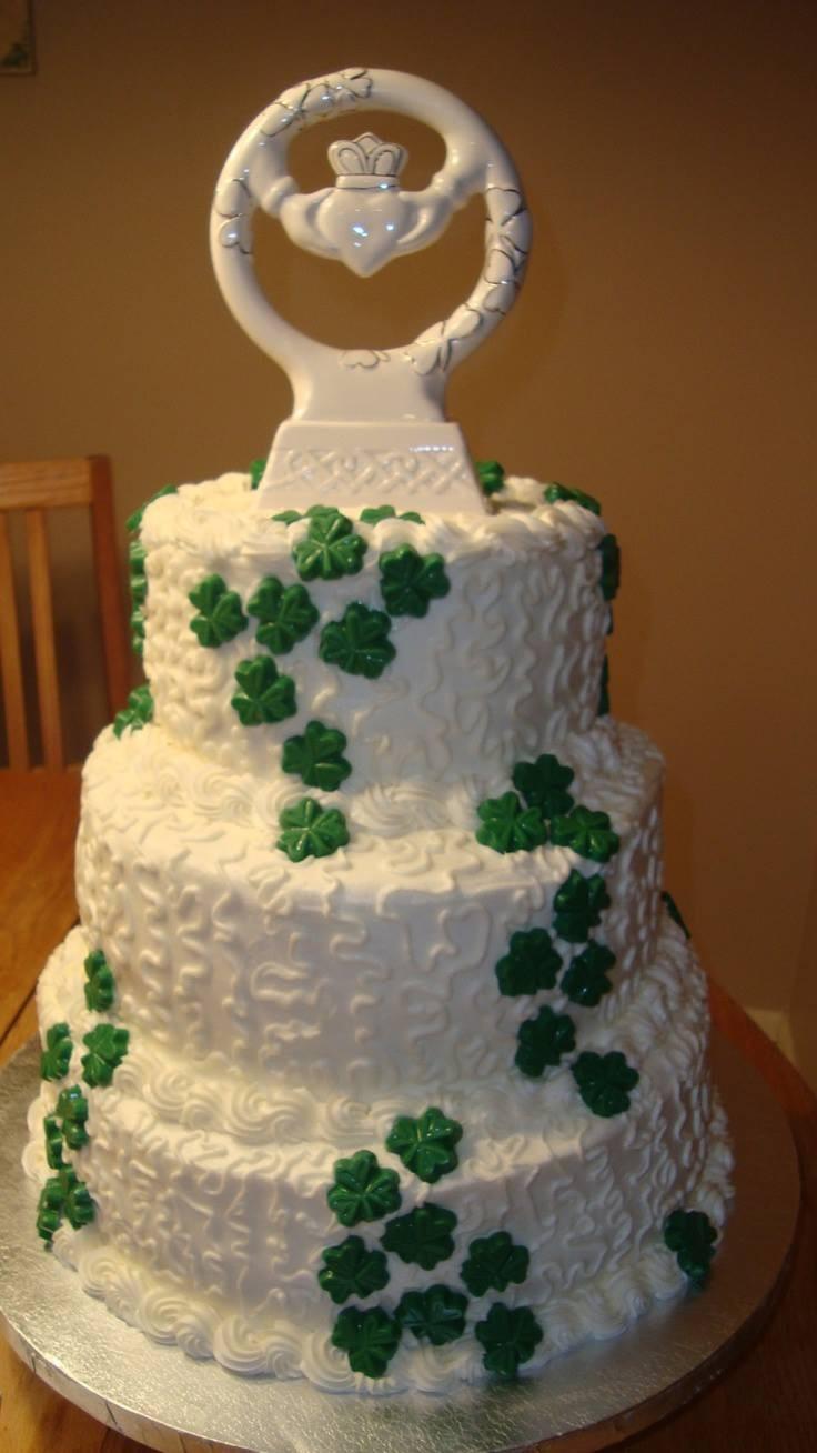 Irish Wedding Cakes  Irish wedding cake Irish wedding cakes