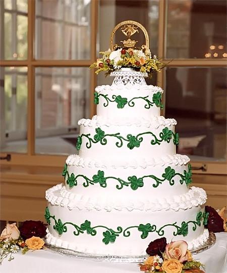 Irish Wedding Cakes  Irish Wedding Cake Wedding and Bridal Inspiration
