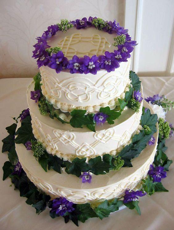 Irish Wedding Cakes  Celtic Wedding Cake Quintessentially Celtic