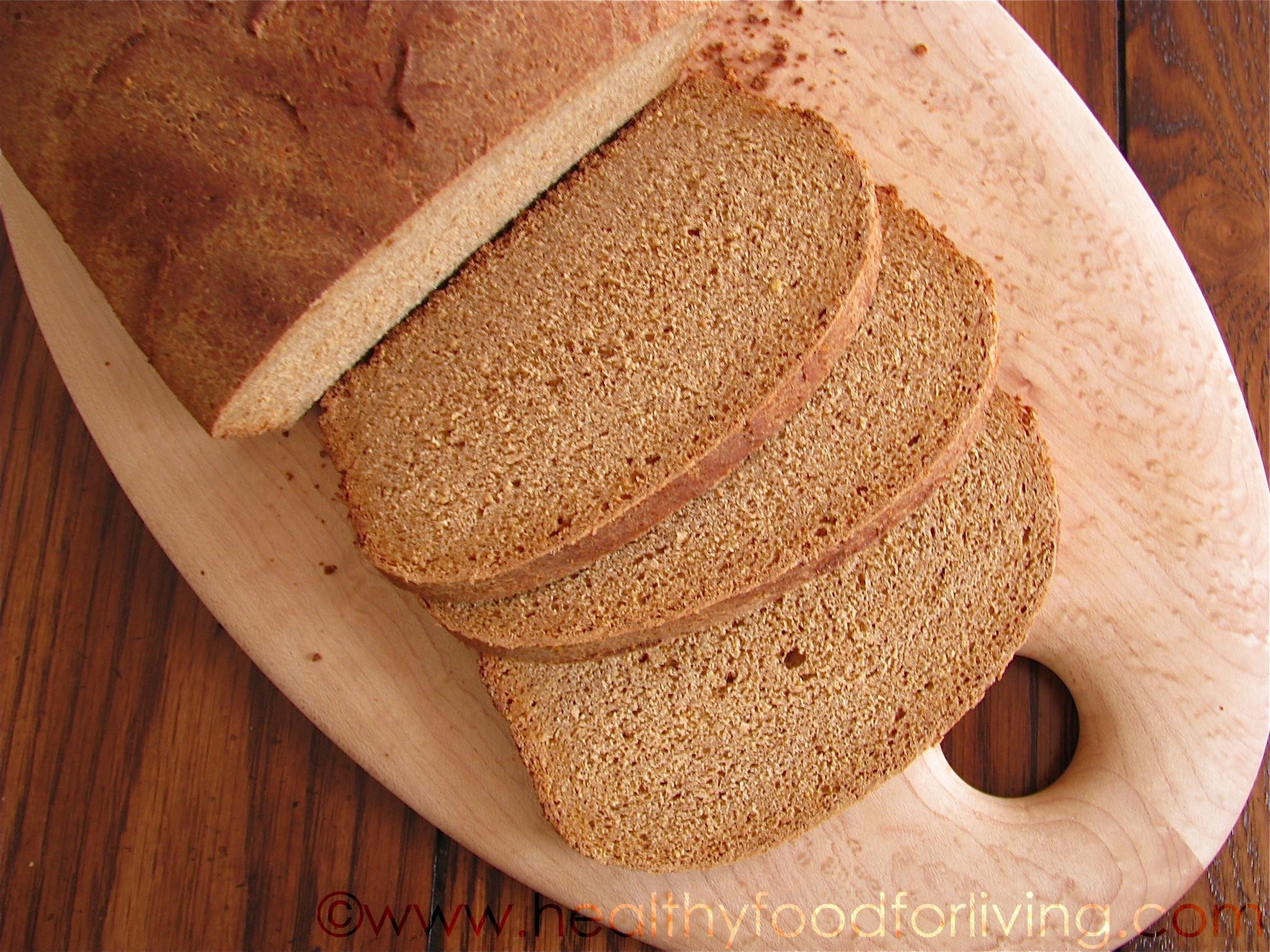 Is 100 Whole Wheat Bread Healthy  Whole Wheat Anadama Bread