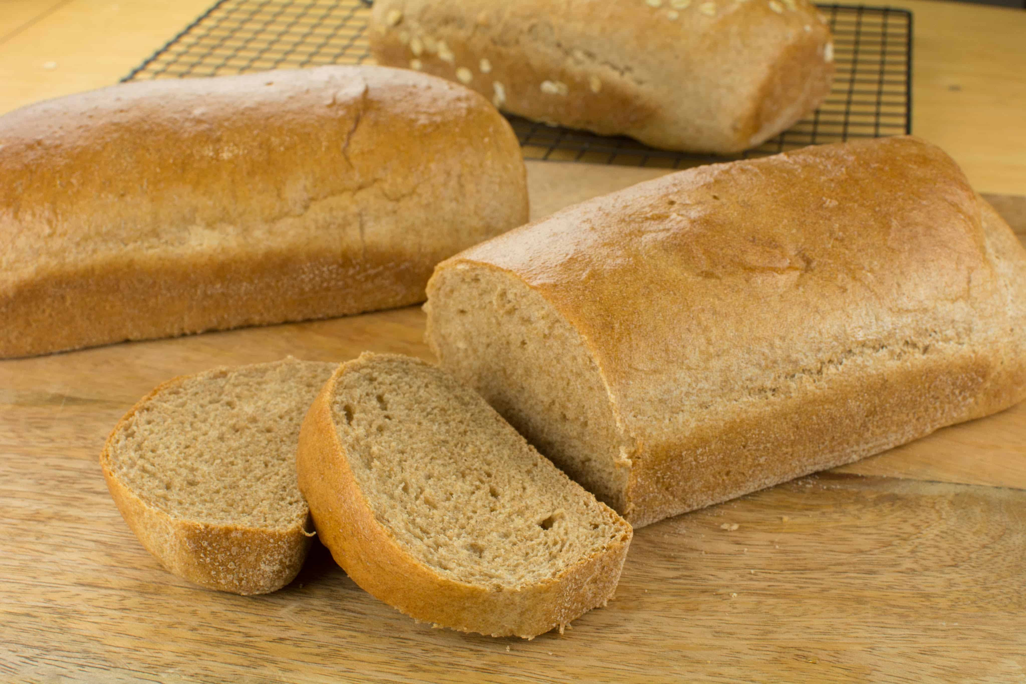 Is 100 Whole Wheat Bread Healthy  100 Whole wheat Bread Recipe How Make Whole Wheat Bread