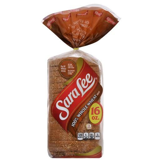 Is 100 Whole Wheat Bread Healthy  Sara Lee Whole Wheat Bread 16oz Tar