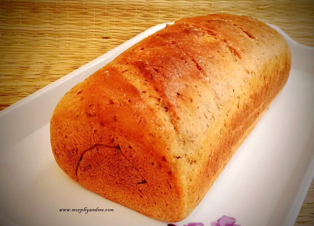 Is 100 Whole Wheat Bread Healthy  Whole Wheat Bread with Flaxmeal Recipe