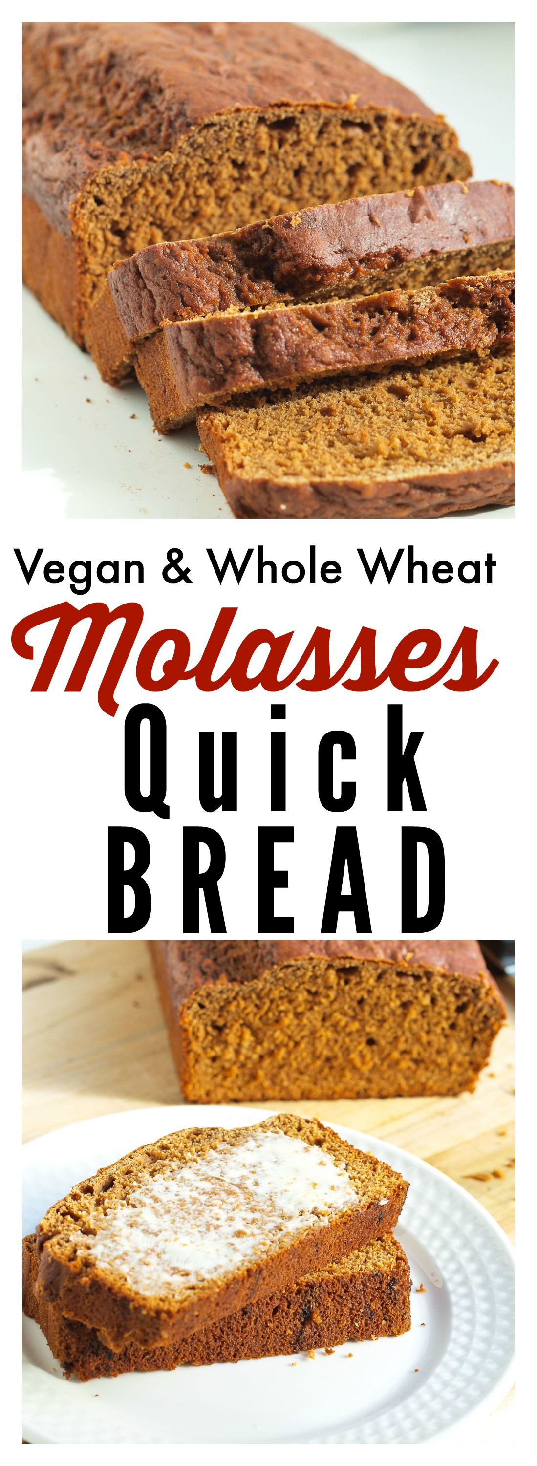 Is 100 Whole Wheat Bread Healthy  Whole Wheat Molasses Quick Bread & TODAY Food Club Happy