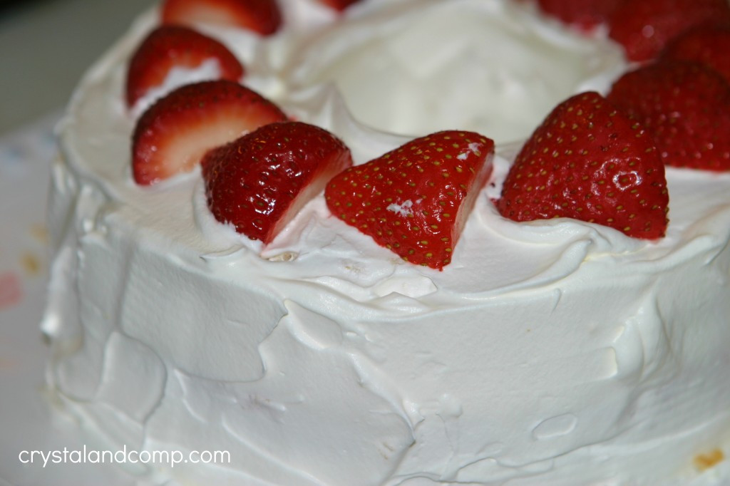 Is Angel Food Cake Healthy  Cake Recipes Strawberry Refrigerator Cake