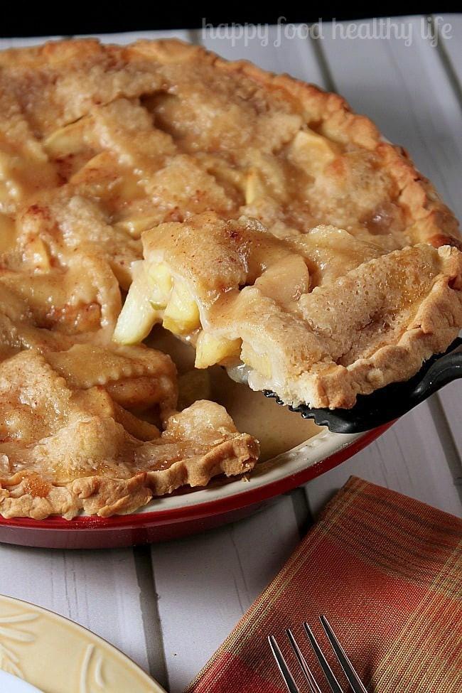 Is Apple Pie Healthy  Homemade Caramel Apple Pie Happy Food Healthy Life