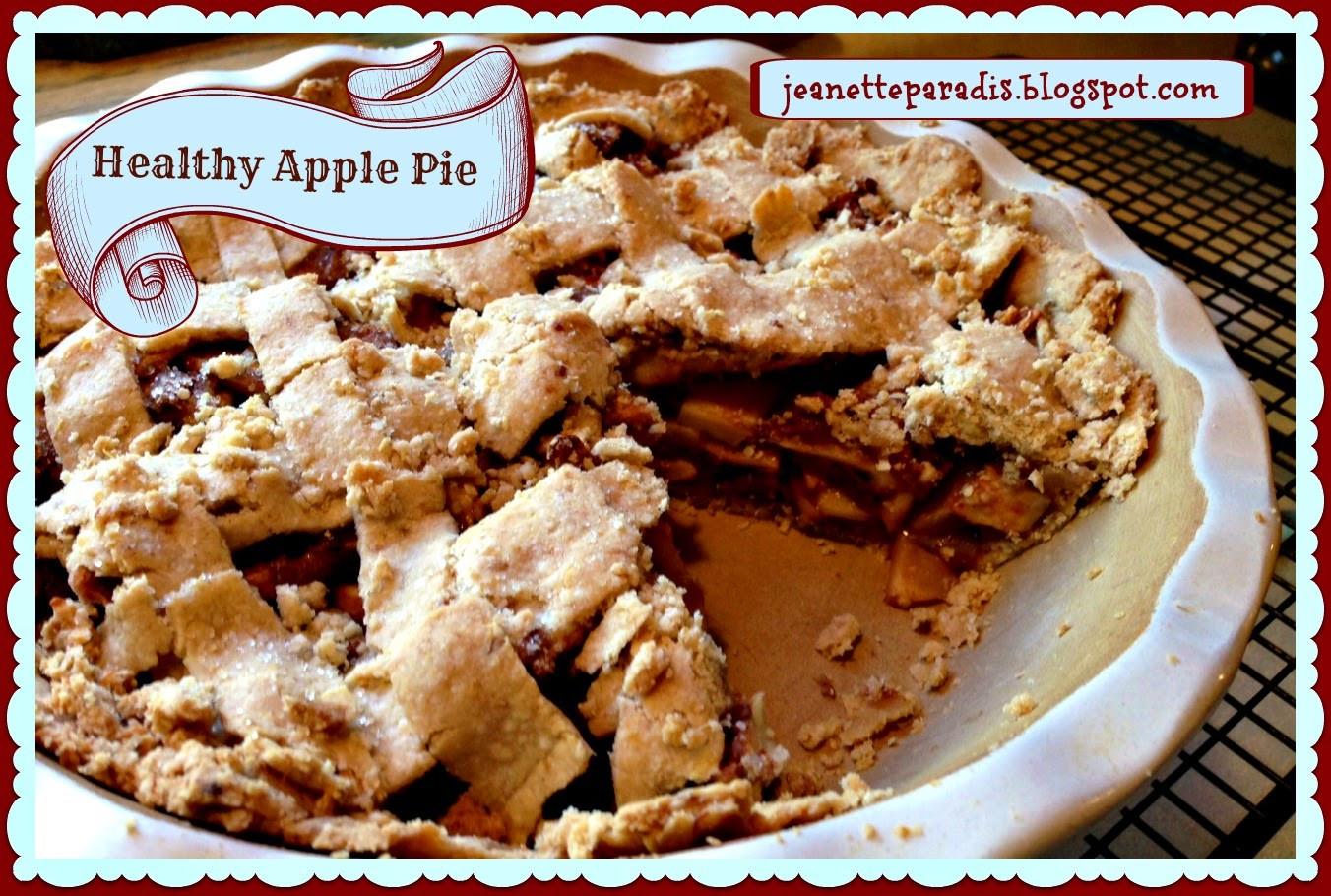Is Apple Pie Healthy  Kitchen Window Healthy Apple Pie